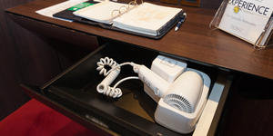 Hair Dryer in The Sophia Loren Royal Suite on MSC Divina (Photo: Cruise Critic)