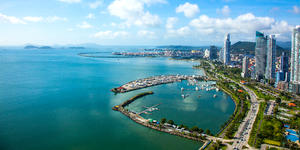 Aerial View of Panama City in Panama (Photo: Cris Young/Shutterstock)