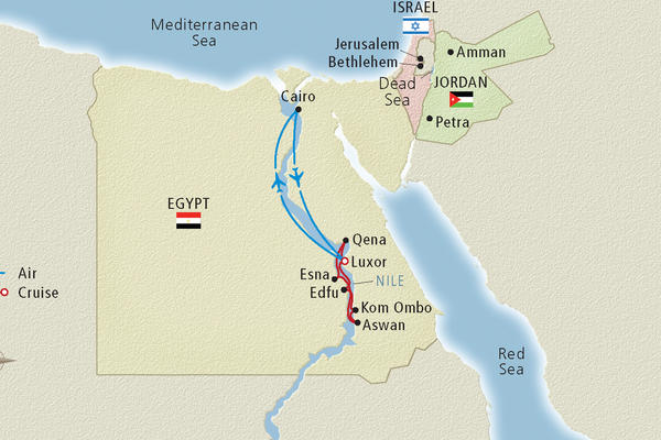 Nile River Cruise Map - Cruise Critic on sea of galilee map jordan river, egypt map jordan river, asia map jordan river, middle east map jordan river, israel map jordan river,