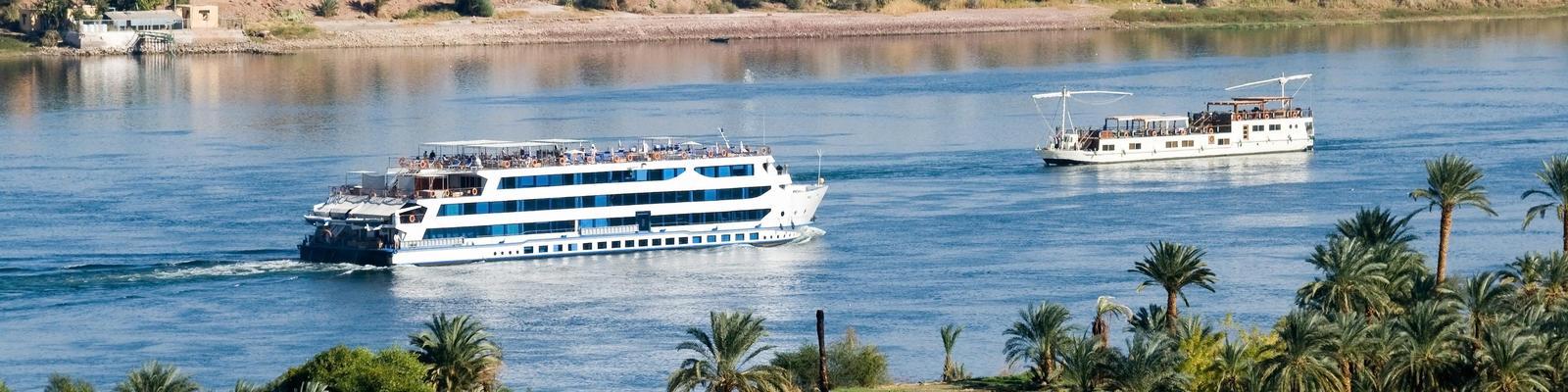 Cruise ship on the Nile River (Photo: erichon/Shutterstock.com)