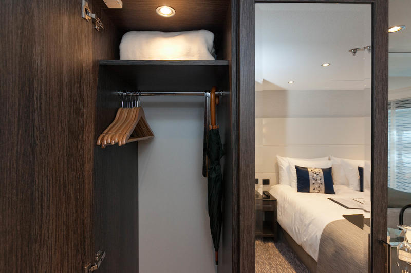 The French Balcony Cabin (Category 2) on ms Grace