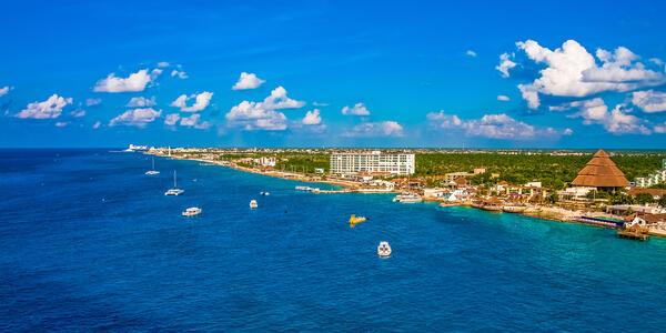 The Cozumel Coast, Mexico (Photo: Darryl Brooks/Shutterstock)