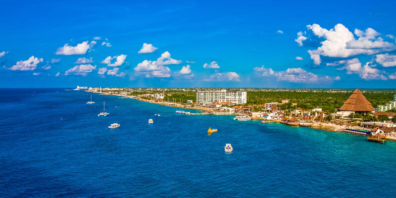 The Cozumel Coast, Mexico (Photo: Darryl Brooks/Shutterstock)