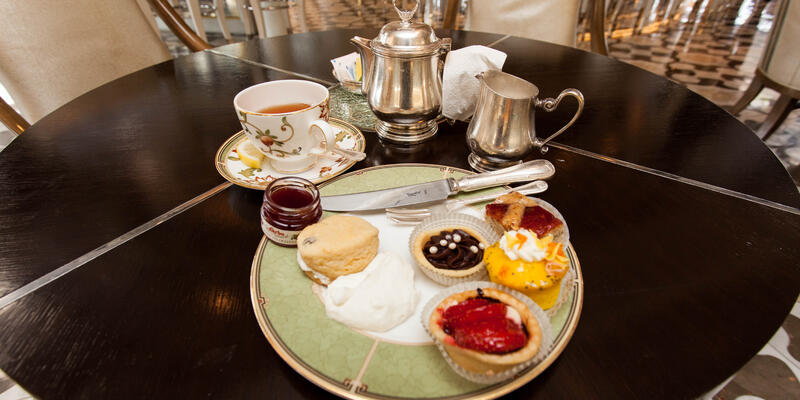 Afternoon Tea in the Palm Court on Crystal Symphony (Photo: Cruise Critic)