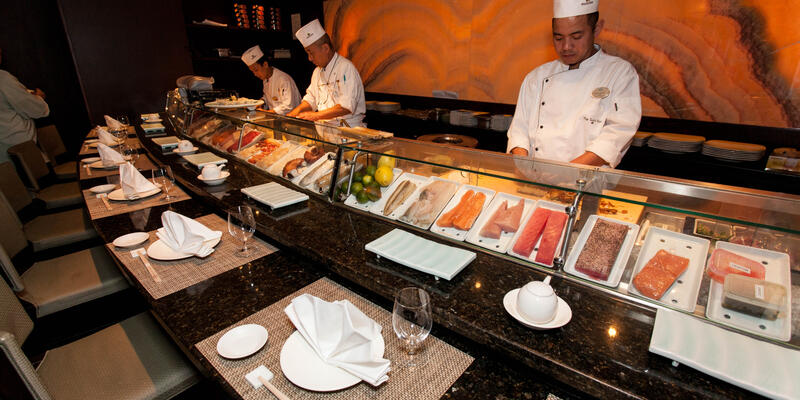 Umi Uma & Sushi Bar on Crystal Symphony