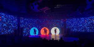 Holland America Line hosted a preview showing of their new production show, One Step, at the SeaTrade Cruise Conference (Photo: Gina Kramer)