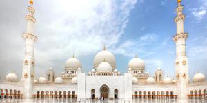 Shaikh Zayed Grand Mosque in Abu Dhabi (Photo: Muhammad Hassan Masood/Shutterstock)