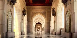 Sultan Qaboos Grand Mosque in Muscat, Oman (Photo: Naufal MQ/Shutterstock)