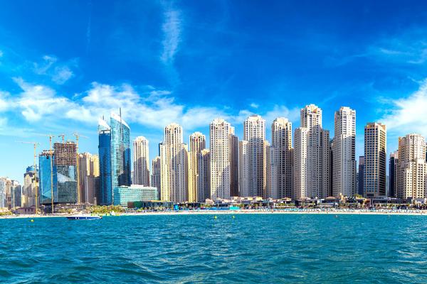 Panorama of Dubai Marina on a Summer Day, United Arab Emirates (Photo: S-F/Shutterstock)