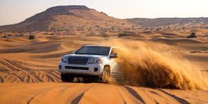 Dune Bashing, A Popular Outdoor Activity in Dubai (Photo: Victor Maschek/Shutterstock)