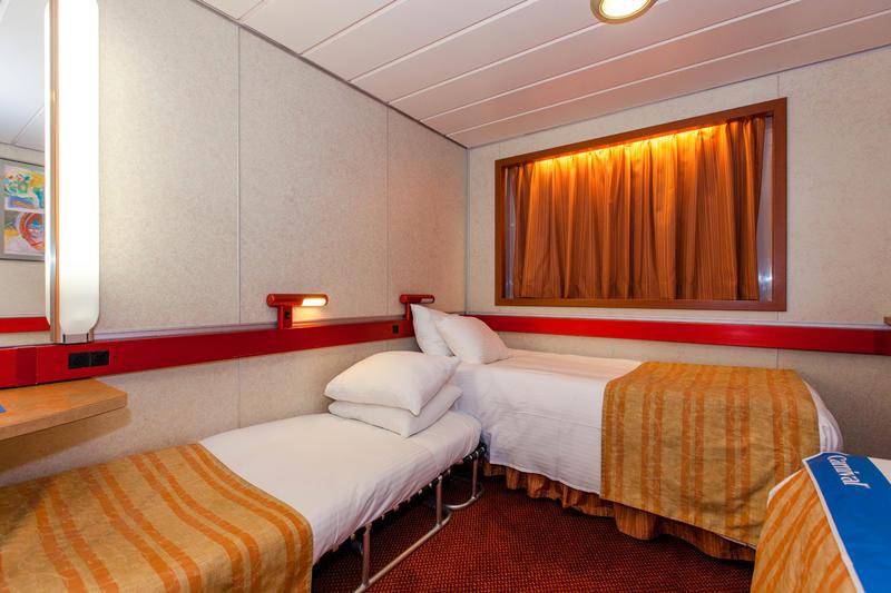 Inside Cabin On Carnival Sensation Cruise Ship