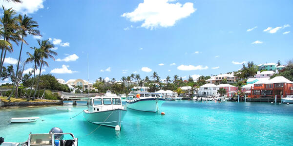 Hamilton, Bermuda (Photo: Just dance/Shutterstock)