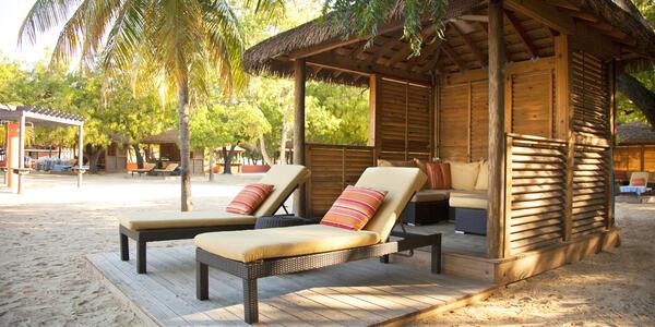 Barefoot Beach Cabanas on Labadee (Photo: Royal Caribbean International)
