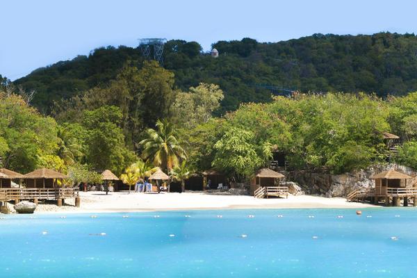 Panoramic View of Royal Caribbean's Labadee Cabanas (Photo: Royal Caribbean International)