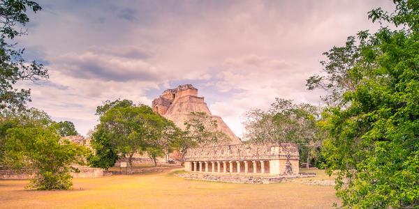 Ancient city of Chichen Itza near Uxmal, Yuacatan, Mexico (Photo: Larwin/Shutterstock)