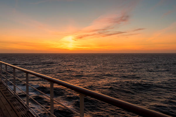 Watching the sun set over the sea is a quintessential cruise experience (Photo: Cruise Critic)