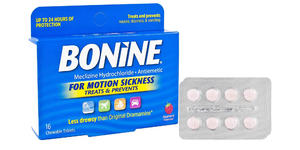 Bonine Motion Sickness Relief Chewable Tablets (Photo: Amazon)