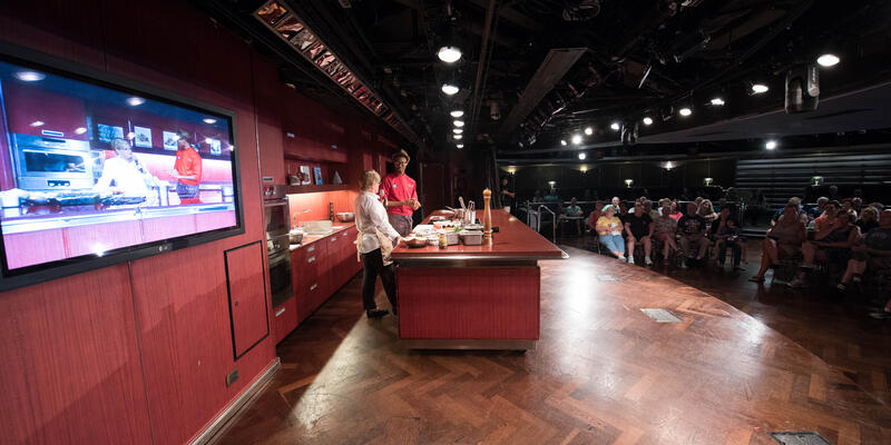 Food Demonstration in the Culinary Arts Center on Eurodam (Photo: Cruise Critic)