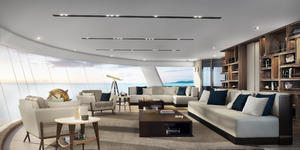 The Observation Lounge onboard Silver Origin (Image: Silversea Cruises)