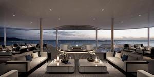 The Terrace Lounge onboard Silver Origin (Image: Silversea Cruises)