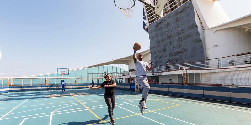 Sports Court on Navigator of the Seas (Photo: Cruise Critic)