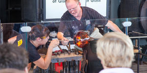 Glass blowing demonstration on Celebrity Equinox (Photo: Cruise Critic)