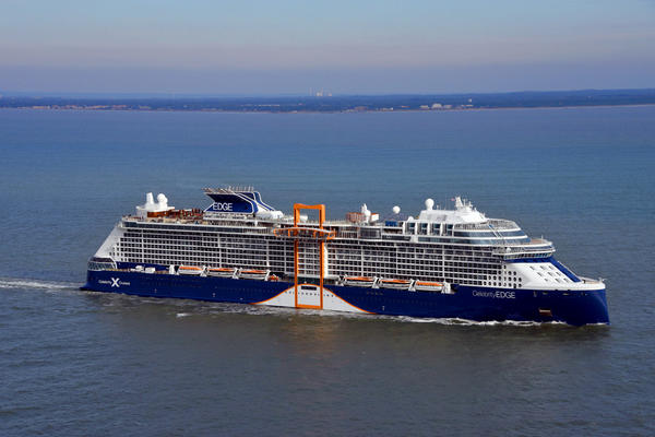 Celebrity Edge is the first of Celebrity Cruises' wave of Edge-class ships (Photo: Celebrity Cruises)