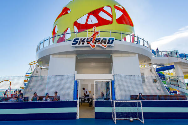 Sky Pad on Mariner of the Seas (Photo: Cruise Critic)