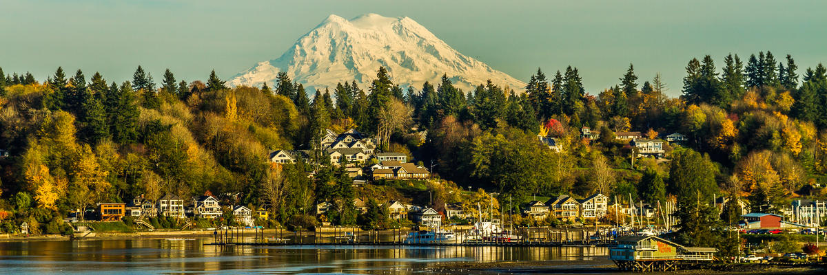 Olympia, Washington (Photo: Mark A Joseph/Shutterstock.com)