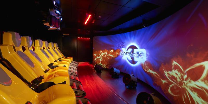 The Dark Ride in the Galaxy Pavilion (Photo: Norwegian Cruise Line)