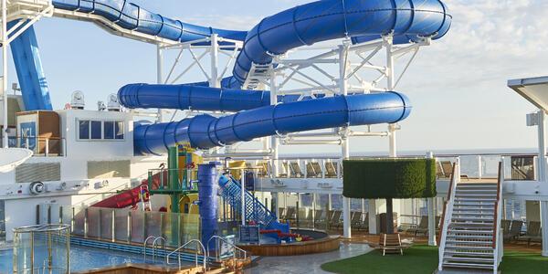 The Aqua Park on Norwegian Joy (Photo: Norwegian Cruise Line)
