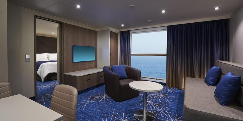 Concierge Family Inside Stateroom (Photo: Norwegian Cruise Line)