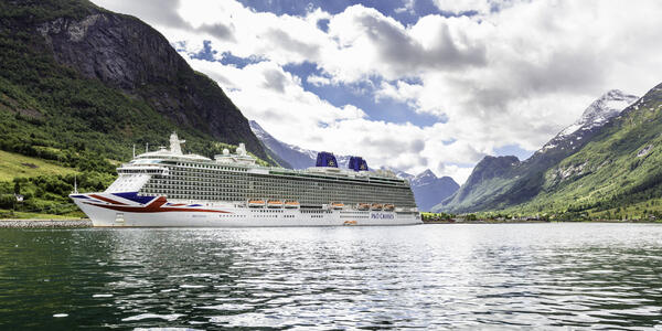 Britannia in Norway (Photo: P&O Cruises)