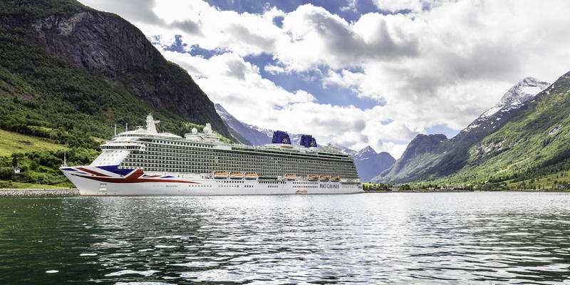 Britannia in Norway (Photo: P&O Cruises)