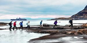 Passengers Exploring Ashore on Port (Photo: Hebridean Island Cruises)