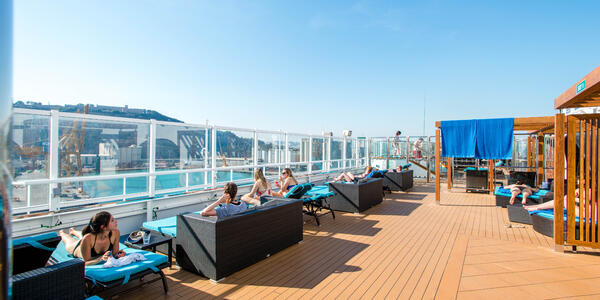 The Serenity sun deck on a Carnival Vista class ship (Photo: Cruise Critic)