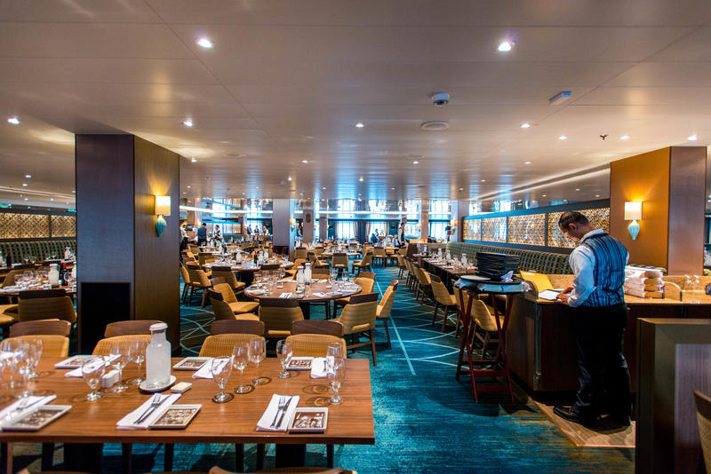 Reflections Restaurant On Carnival Vista Cruise Ship Cruise Critic