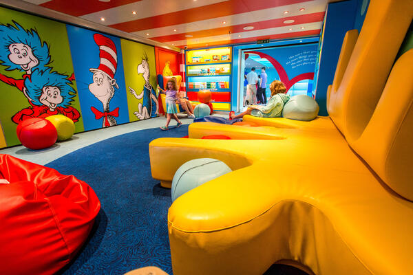 Dr. Seuss Bookville on Carnival Vista