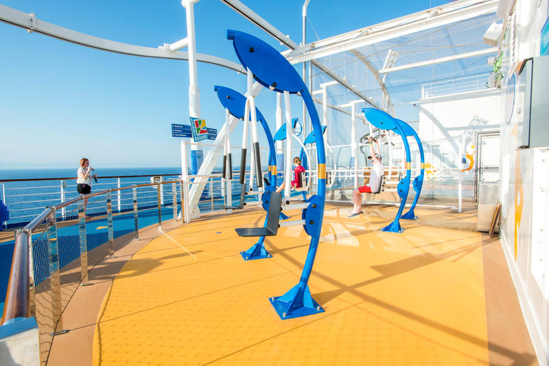 SkyFitness on Carnival Vista