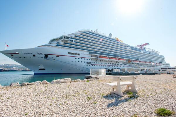 Ship Exterior on Carnival Vista