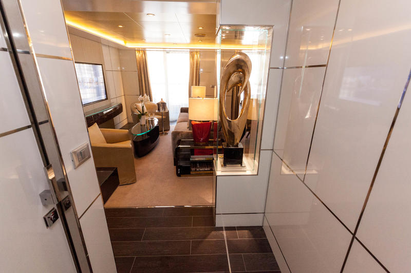 The Seven Seas Suite on Seven Seas Explorer