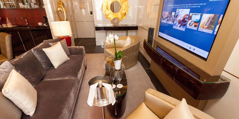 The Seven Seas Suite on Seven Seas Explorer