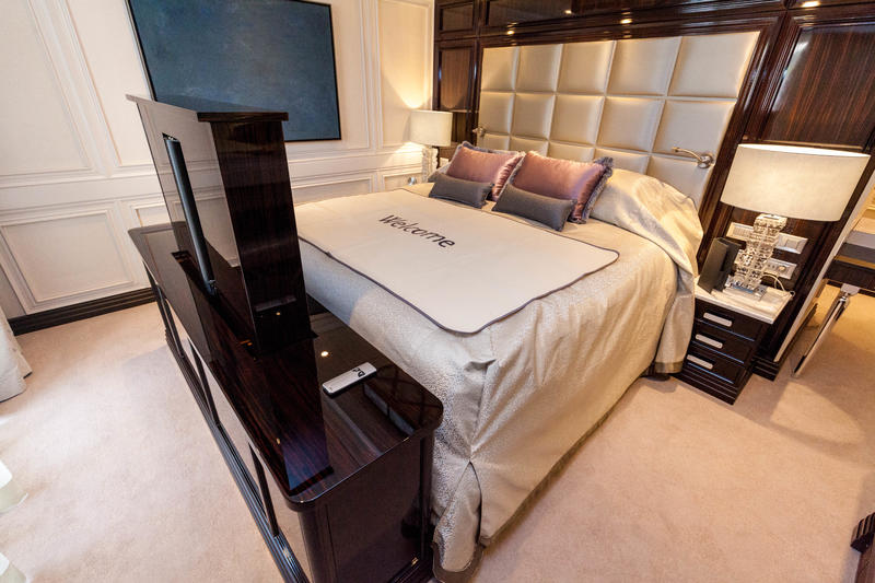 The Master Suite on Seven Seas Explorer