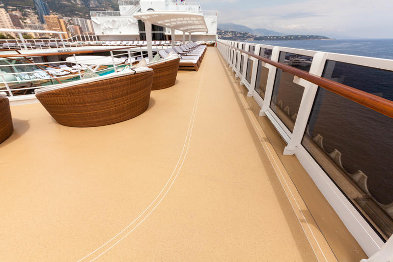 Jogging Track on Seven Seas Explorer