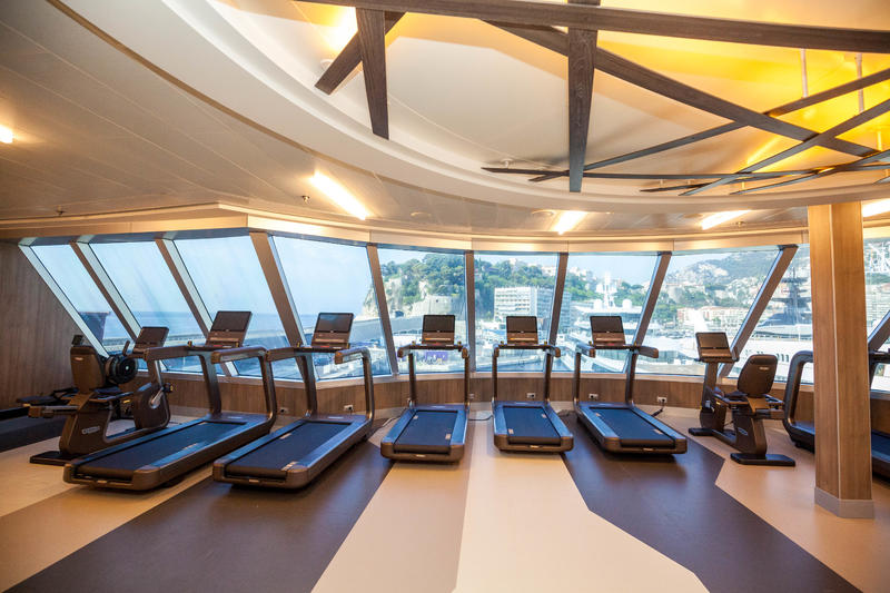 Fitness Center on Seven Seas Explorer