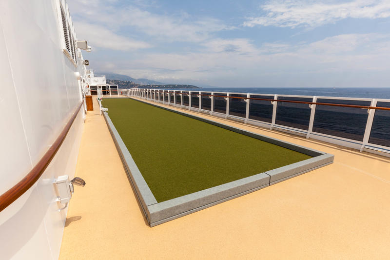 Sports Deck on Seven Seas Explorer