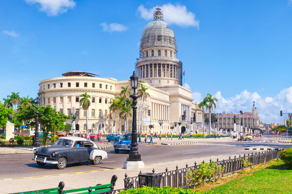 Capitol Building, Downtown Havana, Cuba (Photo: Kamira/Shutterstock)