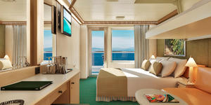 Balcony Stateroom on Carnival Magic (Photo: Carnival Cruise Line)