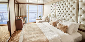 Balcony Stateroom on Pacific Princess (Photo: Princess Cruises)