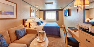 Outside Stateroom Cabin on Queen Victoria (Photo: Cunard Line)